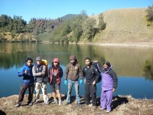foto bareng pendaki Jombang