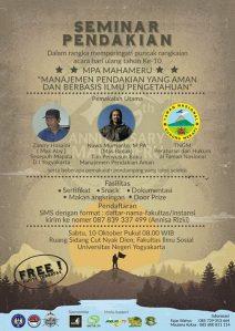 Seminar Pendakian MPA Mahameru